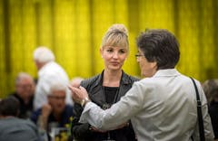 Nationalratskandidatin Diana Gutjahr. (Bild: Andrea Stalder)