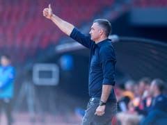 Der neue GC-Coach Tomislav Stipic sieht gegen Lugano einige gute Ansätze seines Teams (Bild: KEYSTONE/MELANIE DUCHENE)