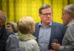 Der zurückgetretene Ständerat Roland Eberle. (Bild: Andrea Stalder)