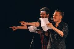 Gregor Stäheli und Diego Häberli aus St.Gallen machten ihr Comeback als Duo Haber & Stahl zum Thema.