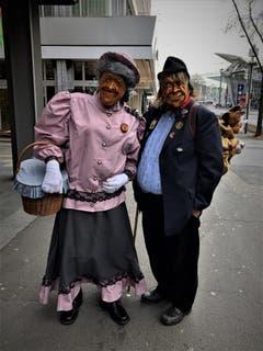 «Wenn man tut, was sich gehört, verpasst man den ganzen Spass; Also ab an die Luzerner Fasnacht!», schreibt Leserin Margrith Imhof-Röthlin zu ihrem Fasnachts-Bild.