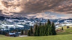 Morgenrot bei Halden, Herisau (Bild: Luciano Pau)