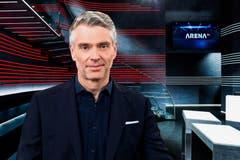 Seit 2019: Von der «Rundschau» zur «Arena» – Sandro Brotz wird der Nachfolger von Jonas Projer. Im Mai wird der 49-Jährige voraussichtlich durch die erste Sendung führen. (Bild: SRF)