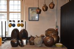 Unterschiedliche Glocken und Schellen wurden in der Klangschmiede bereits hergestellt.