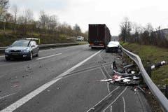 Der Sachschaden beträgt rund 200'000 Franken. (Bild: Luzerner Polizei, 12. April 2019)