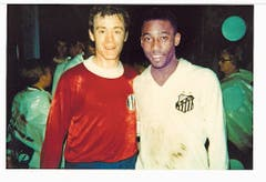 Am 17. Juni 1968 mit Fussballlegende Pelé (Bild: PD)