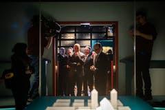 ...wird in einem separaten Raum der Austellung gezeigt. (Bild: Benjamin Manser)