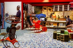 Das Label Moroso feierte in Mailand seine Afrika-Kollektion...