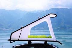 Flexibel nutzbarer Raum auf dem Auto: Das «Nest» von Sebastian Maluska.