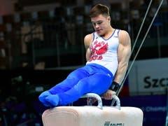 Nikita Nagorni führte die überragende russische Riege an, die bei den Männern fünf von sieben Goldmedaillen gewann (Bild: KEYSTONE/EPA PAP/MARCIN BIELECKI)