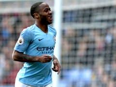 Raheem Sterling brachte Manchester City mit zwei Toren zur 2:0-Führung bei Crystal Palace auf die Siegesstrasse. (Bild: KEYSTONE/AP PA/STEVEN PASTON)