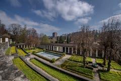 Das alte Krematorium in Luzern soll samt Aussenflächen umgenutzt werden. Die terrassenförmig angelegten Grünflächen erstrecken sich über 8 Hektaren.