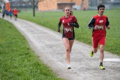 Steffi Häberlin aus Happerswil und Mauro Perseghini aus Biasca. (Bild: Boris Bürgisser, Stans, 14. April 2019)