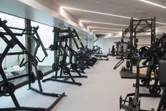 Blick in das Fitnessstudio. (Bild: Dominik Wunderli, Oberkirch, 15. April 2019)