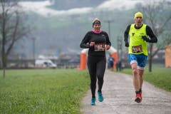 Sarah Kempf aus Spiringen und Othmar Schuler aus Schattdorf. (Bild: Boris Bürgisser, Stans, 14. April 2019)