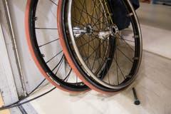 Ersatzräder stehen für den Fall der Fälle bereit. (Bild: Roger Grütter, Nottwil, 13. April 2019)
