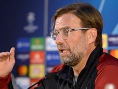 Liverpool (im Bild Trainer Jürgen Klopp) will gegen den FC Porto nichts mehr anbrennen lassen (Bild: KEYSTONE/EPA LUSA/FERNANDO VELUDO)
