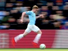 Der Speed von Manchester City's Kevin De Bruyne ist gegen Tottenham gefragt (Bild: KEYSTONE/AP PA/STEVEN PASTON)