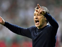 Bayerns Coach Niko Kovac hatte kaum ruhige Minuten (Bild: KEYSTONE/AP/MARTIN MEISSNER)