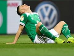 So nahe am Final und doch gescheitert: Maximilian Eggestein von Werder Bremen (Bild: KEYSTONE/AP/MARTIN MEISSNER)