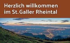 Etwa ab Herbst werden Verkehrsteilnehmer auf der A13 bei Sennwald mit einer neuen Tafel willkommen geheissen. (Bild: Rheintal.com)