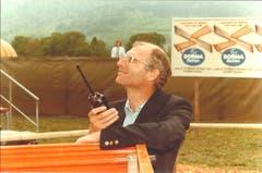 Immer vorne mit dabei: Alfred N. Becker im Jahre 1984 (Bild: Messe Luzern)