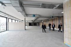 2. Obergeschoss. Fitness-Center mit dem Fenster zur Kirchstrasse (links)