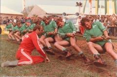 An der Luga ziehen alle am selben Strick - 1984 sogar wortwörtlich (Bild: Messe Luzern)
