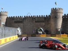 Nach den chaotischen Rennen in den letzten zwei Jahren verlief der Grand Prix in Baku diesmal ohne besondere Vorkommnisse (Bild: KEYSTONE/EPA/ZURAB KURTSIKIDZE)