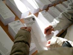 Fast 37 Millionen Spanier sind aufgerufen, ihre Stimme abzugeben. (Bild: KEYSTONE/AP/ANDREA COMAS)