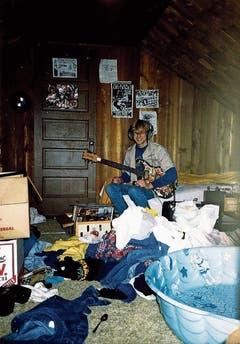 Kurt Cobain war schon früh musikalisch interessiert. (Bild: Kim Cobain/AP)