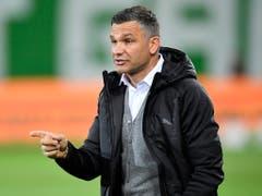 Die Grasshoppers warten auch nach sieben Spielen unter Trainer Tomislav Stipic auf einen Sieg (Bild: KEYSTONE/GIAN EHRENZELLER)