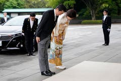 Premierminister Shinzo Abe und seine Frau Akie Abe. (Bild: Getty Images)