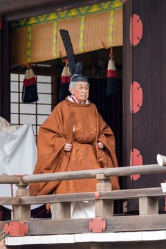 (Bild: The Imperial Household Agency of Japan via AP)