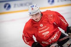 Auch der Ostschweizer NHL-Star Kevin Fiala trainiert in Weinfelden. Bild: Andrea Stalder