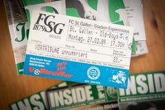 An diesem Match im Frühling 1989 erlebte Robert Adolf seine FCSG-Premiere. (Bild: Ralph Ribi)
