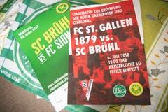 Derbys zwischen dem FC St.Gallen und dem SC Brühl sind Teil der Stadtgeschichte. (Bild: Ralph Ribi)
