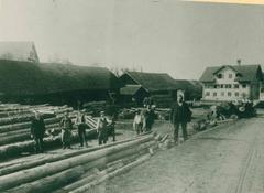Die Sägerei Hürlimann in Nottwil. (Bild: Gemeinde Nottwil)