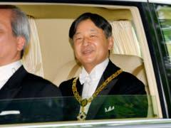 Japan hat am Mittwoch einen neuen Kaiser ins Amt gerufen. (Bild: KEYSTONE/AP Kyodo News)