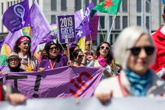Kundgebung in Genf. (KEYSTONE/Martial Trezzini)
