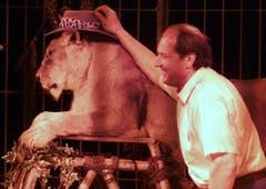 Kindervorführung im Zirkus Nock in Willisau im Jahr 2000. (Archiv LZ)