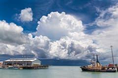 Auch bei Tag eindrücklich: Gewitter bei Darwin in Australien.