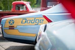 Bemerkenswertes Heck eines Dodge Chargers.