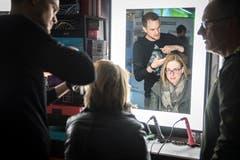 Eine neue Frisur direkt auf der Messe? Die Gewa macht's möglich. (Bild: Reto Martin)