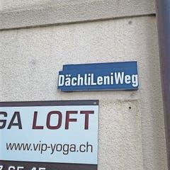 Dächli Leni ging nach Hollywood. Gestern gab es ihr zu Ehren in Goldau einen Weg.