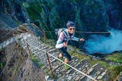 Auf Madeira absolvierte Kim Baner aus Buchs am 27. April den 115 Kilometer langen Madeira-Island-Ultra-Trail.(Bild: PD)