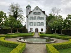 Schloss Hahnberg bei Berg (SG) mit seinem wunderbaren Schlossgarten von Adolf Röösli. (Bild: Urs Benz)