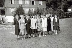 Vereinsausflug auf die Rigi am 12. September 1948.