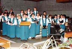 Konzert in der katholischen Kirche Buchs 1994.