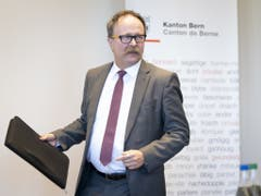 «Habe Rücktrittsentscheid selbständig getroffen»: Thorberg-Direktor Thomas Egger. (Bild: Keystone/ANTHONY ANEX)